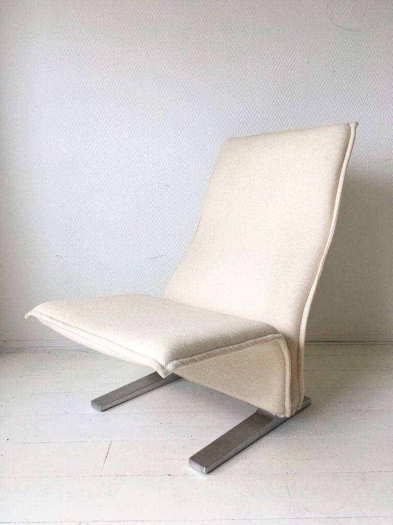 concorde f784 sessel mit hoher lehne von pierre paulin f r artifort 1960er bei pamono kaufen. Black Bedroom Furniture Sets. Home Design Ideas
