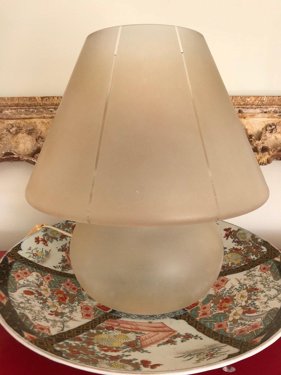 Murano Mushroom Lampe von Vetri, 1970er
