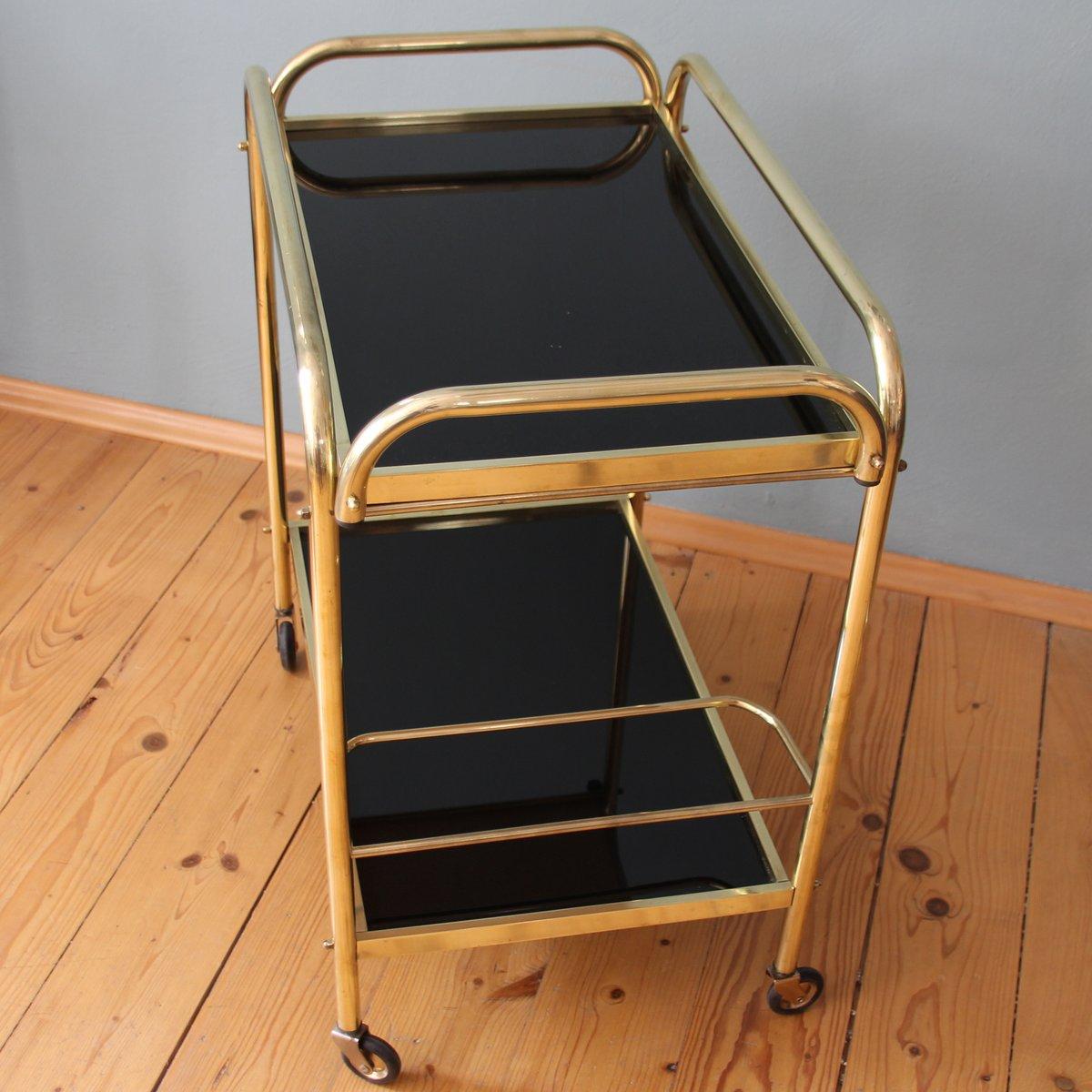 franz sischer art deco servierwagen 1940er bei pamono kaufen. Black Bedroom Furniture Sets. Home Design Ideas