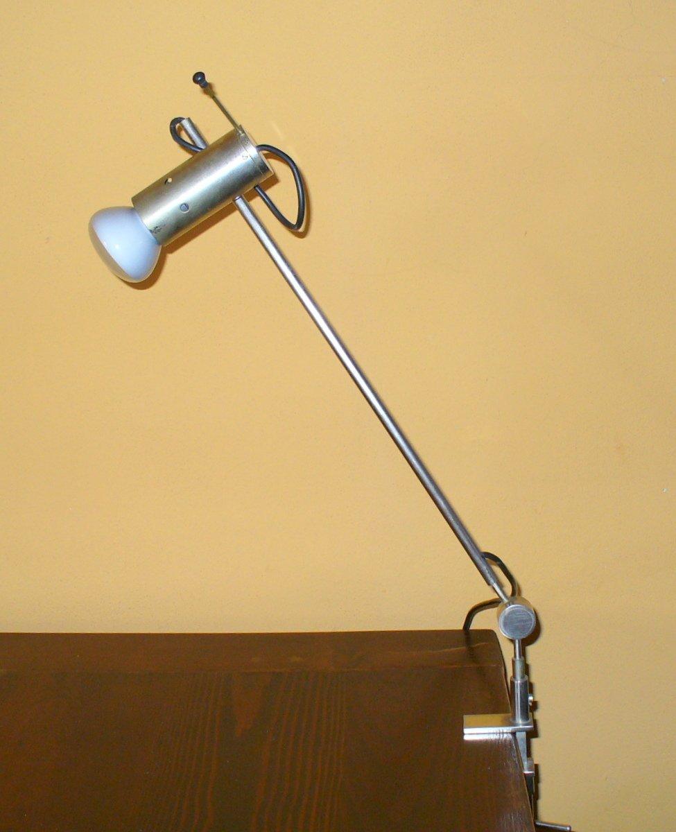 Modell 255 Tischlampe von Tito Agnoli für Oluce, 1954