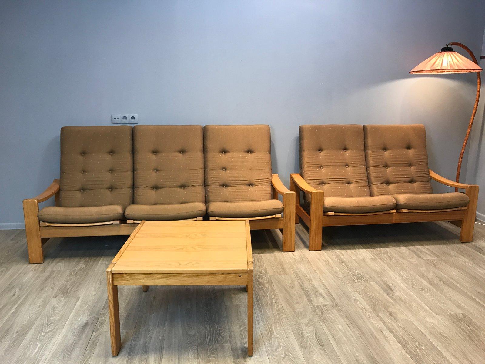 Schwedisches Vintage Wohnzimmer Set Von Yngve Ekstrom Für Swedese