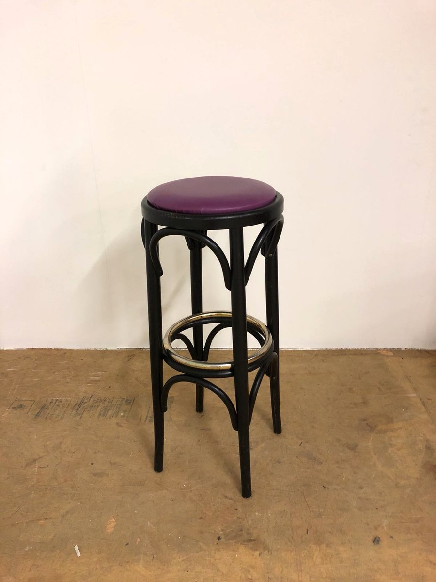 Vintage French Bar Stool 1970s