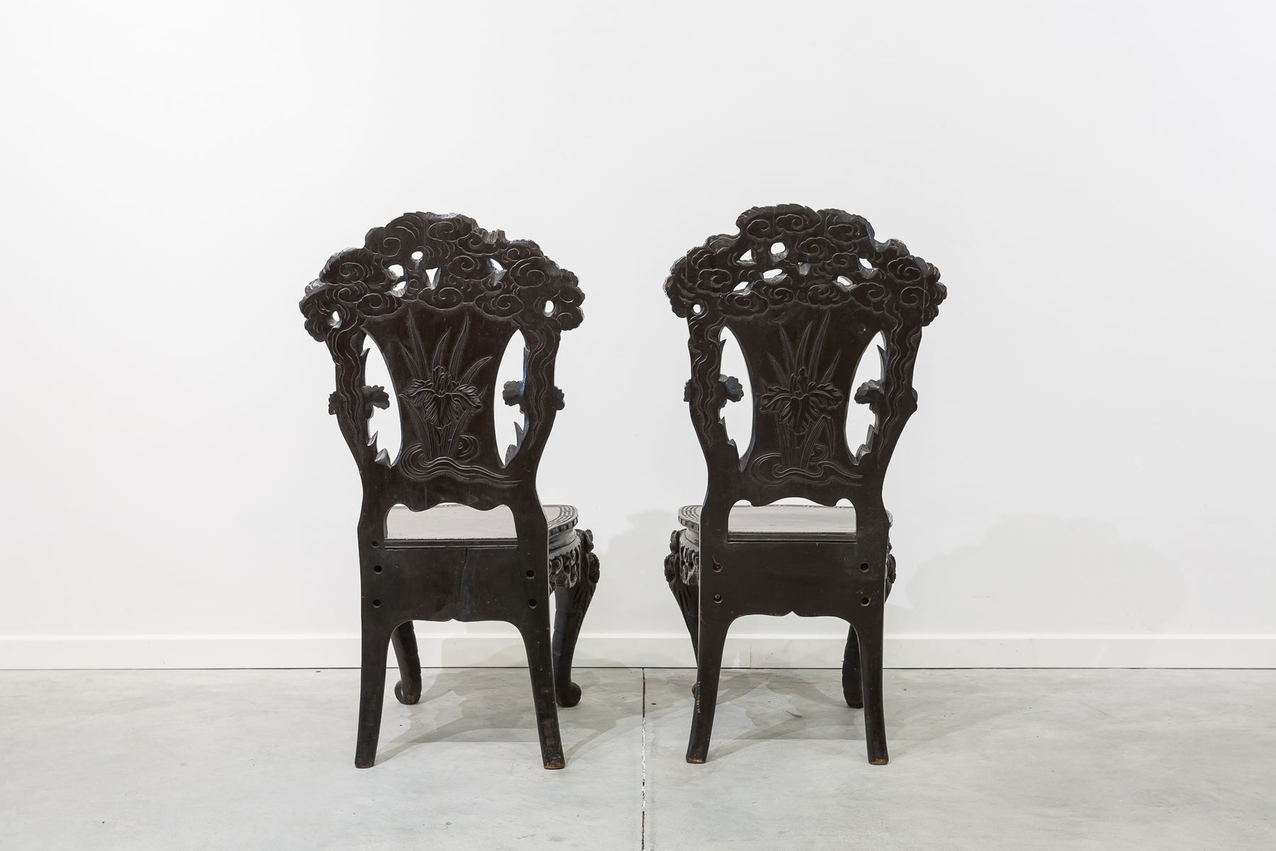 antike chinesische st hle 2er set bei pamono kaufen. Black Bedroom Furniture Sets. Home Design Ideas