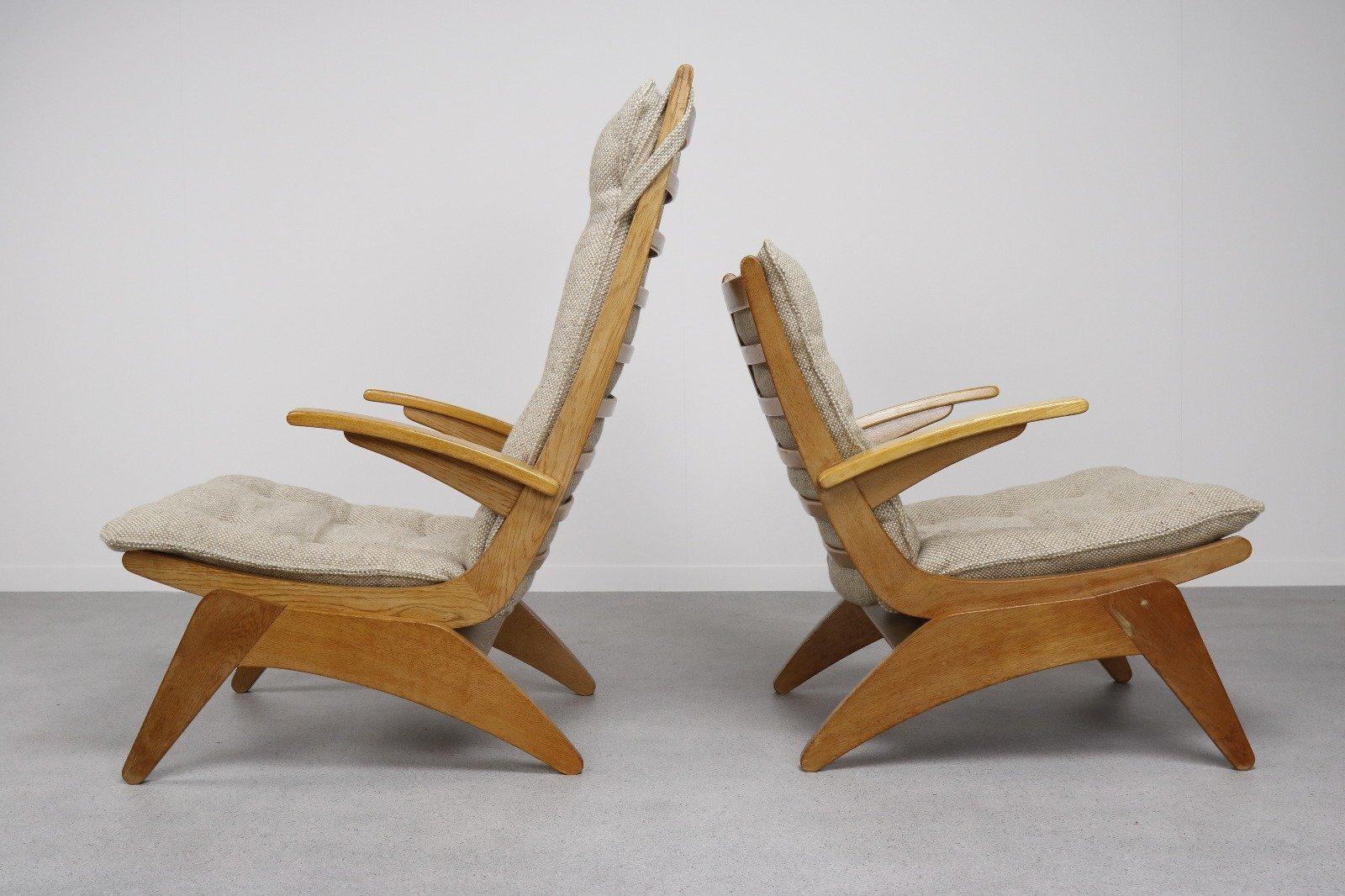 Sessel von Jan Den Drijver für De Ster Gelderland, 1948, 2er Set