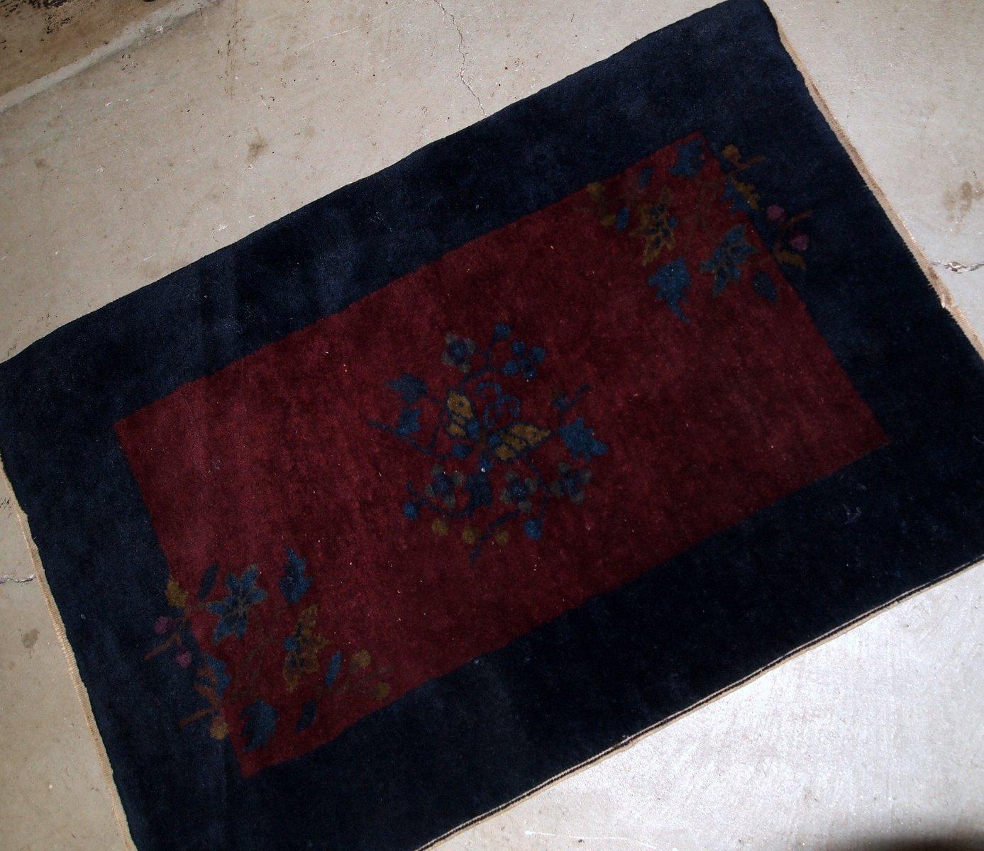 Handgefertigter vintage art deco teppich 1920er bei - Art deco teppich ...