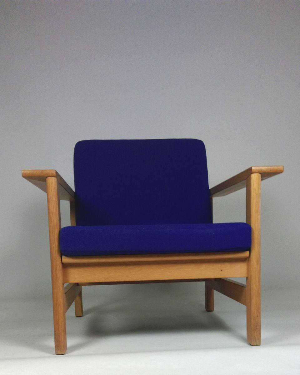 Model 2451 Oak Lounge Chair By S 248 Ren Holst For Fredericia