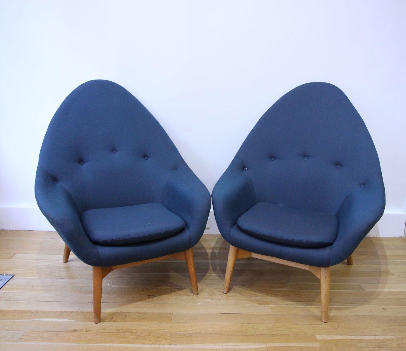 Monk Chairs von Stockmann Oyj, 1950er, 2er Set