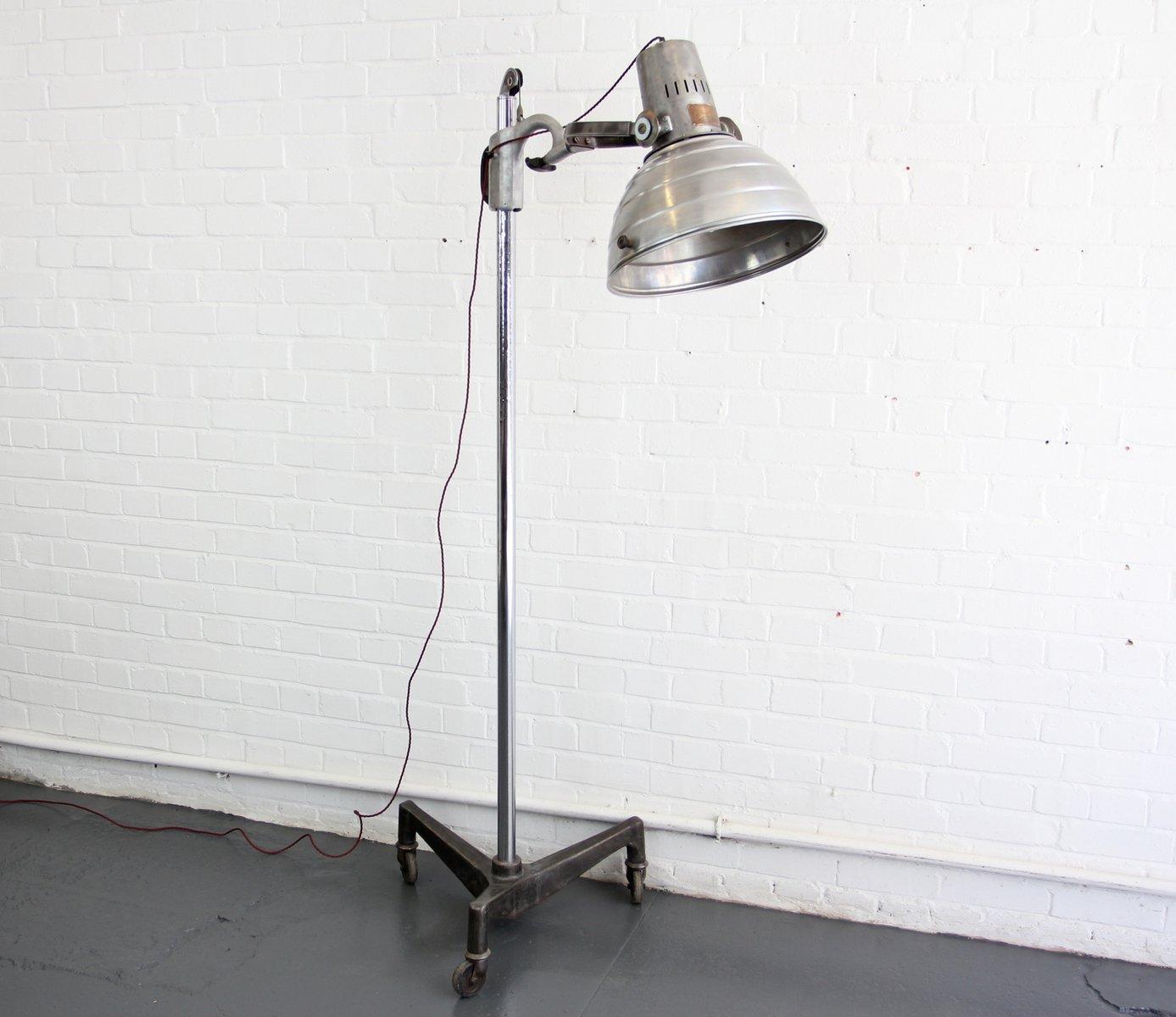 Industrielle vintage Stehlampe von Sollux