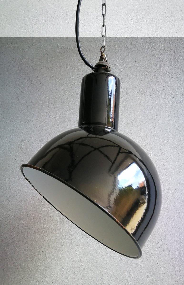 Industrielle belgische Vintage Lampen von S.E.M. Reluma, 2er Set