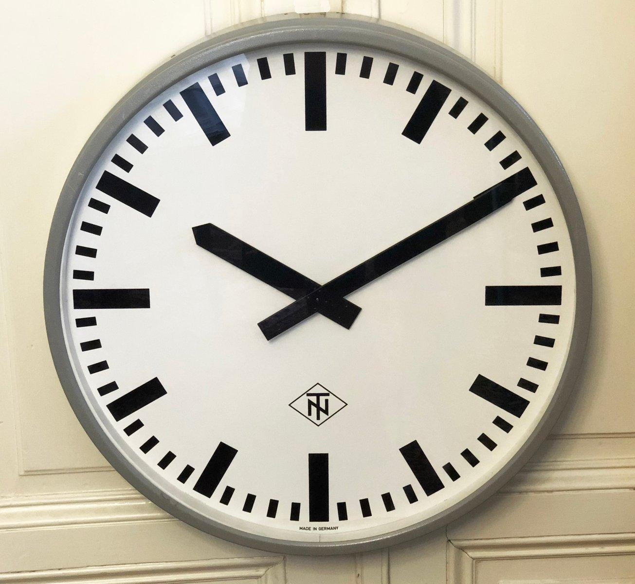Industrielle deutsche Uhr von Telefonbau und No...