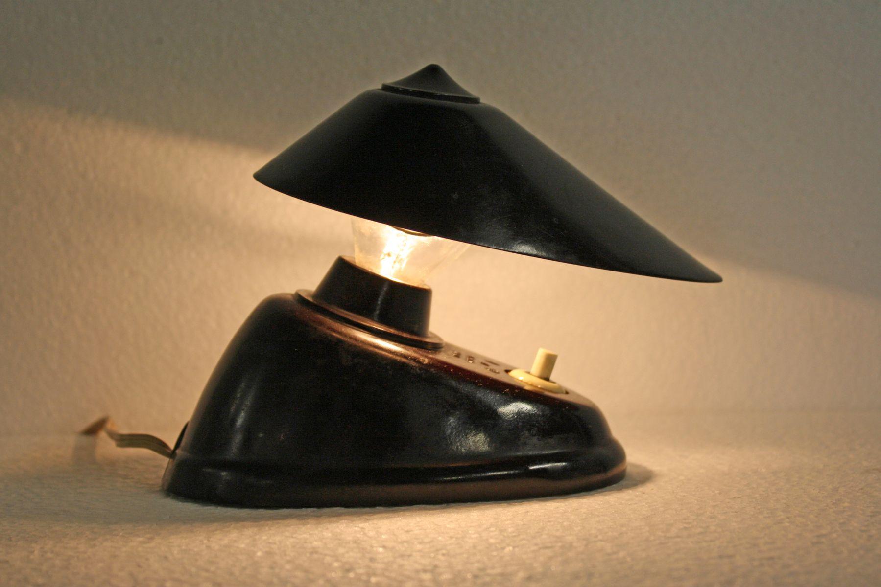 Art Deco Modell 11641 Bakelit Schreibtisch- oder Wandleuchte von ESC, ...