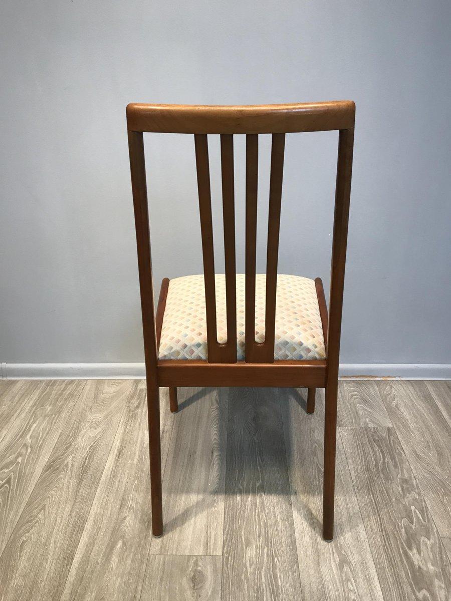 Tavolo allungabile rotondo con sedie di Lübke, anni \'60, set di 7 in ...