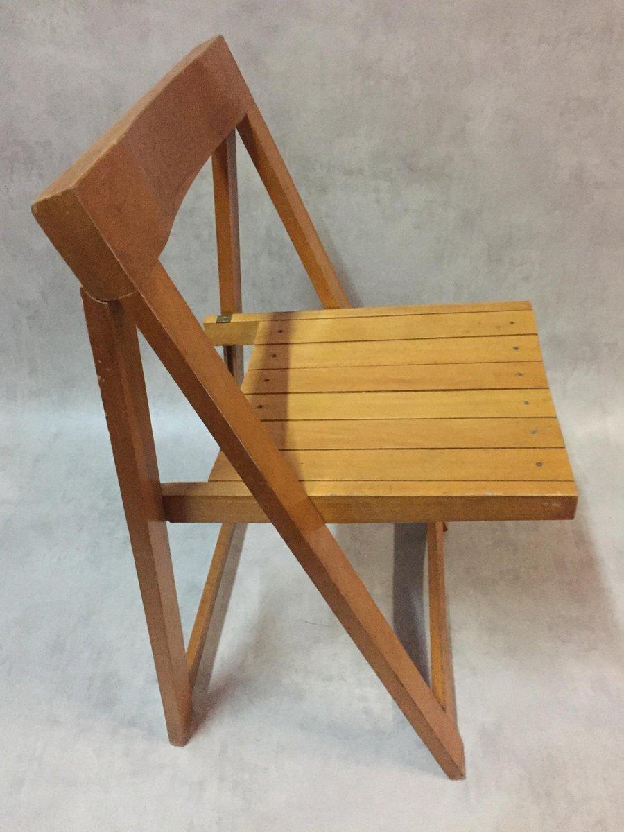 chaise pliable par aldo jacober pour bazzani 1966 en vente sur pamono. Black Bedroom Furniture Sets. Home Design Ideas