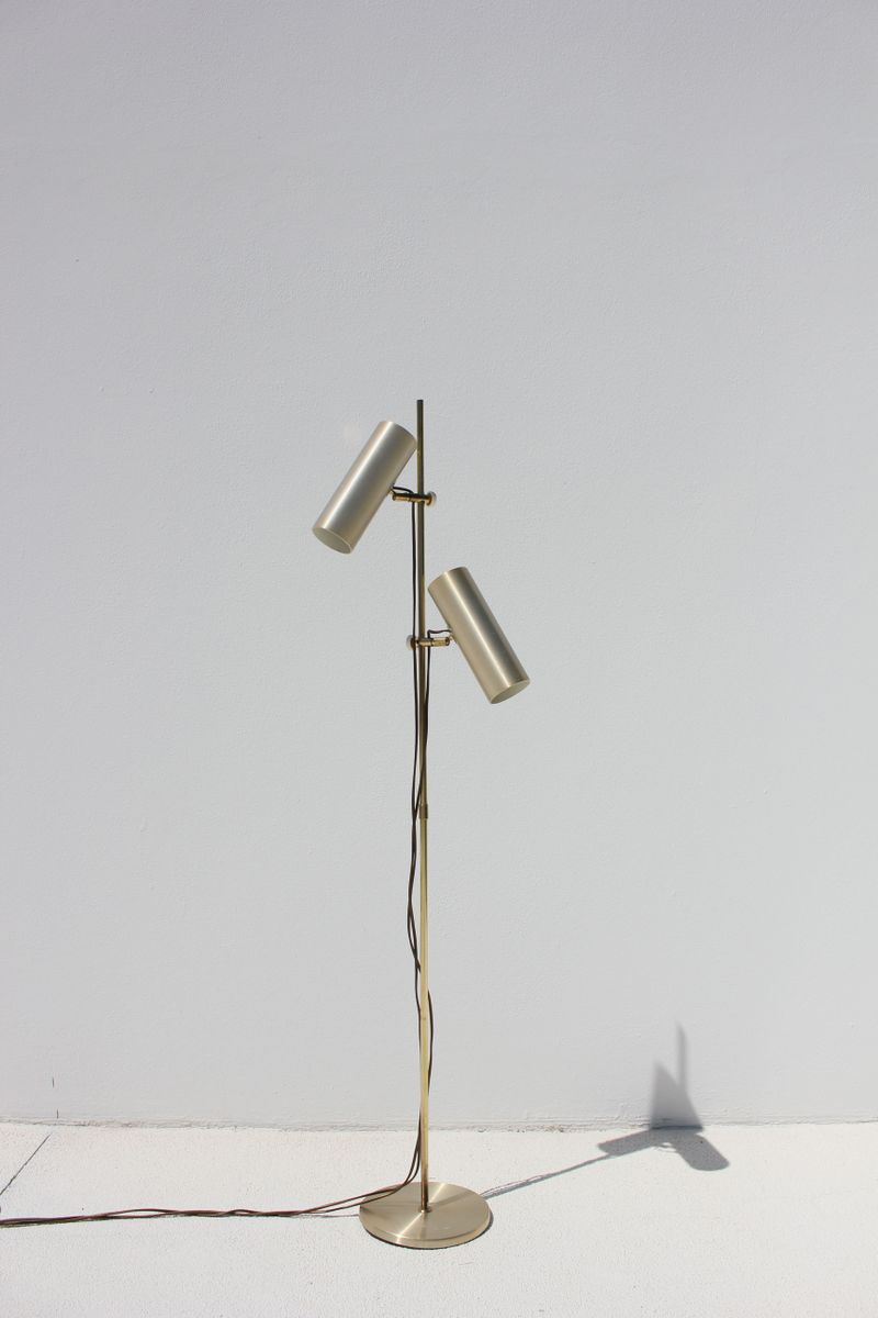 Mid century danish floor lamp for sale at pamono mid century danish floor lamp aloadofball Image collections