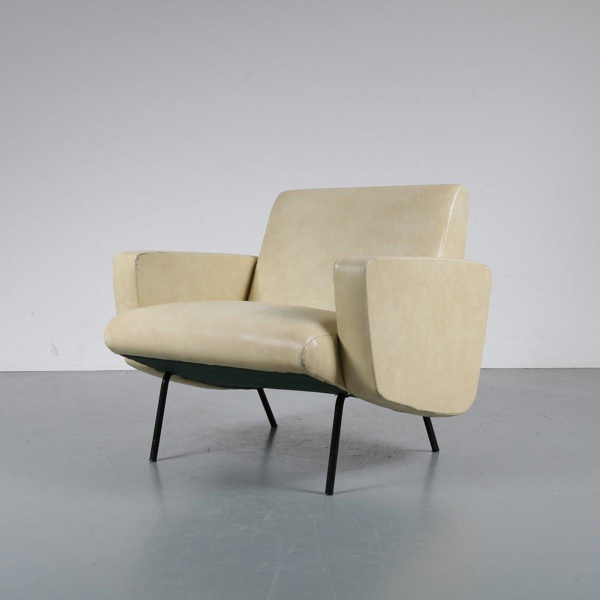 Sessel von Joseph André Motte für Steiner, 1950er