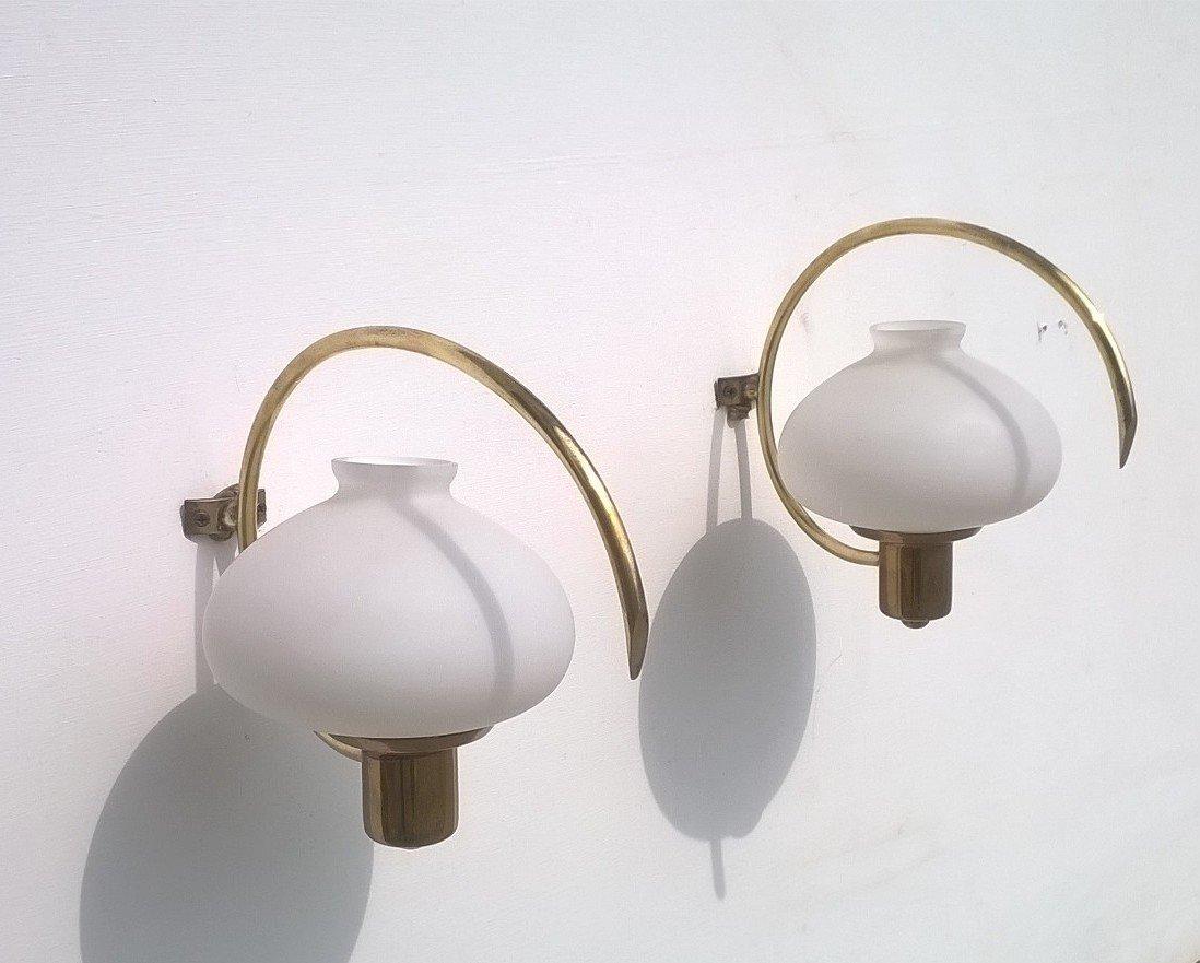 Wandlampen von Stilnovo, 1950er, 5er Set