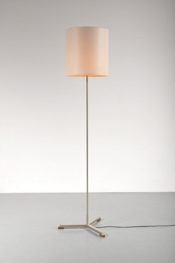Modernist Dutch Floor Lamp By W Hagoort 1960s For Sale