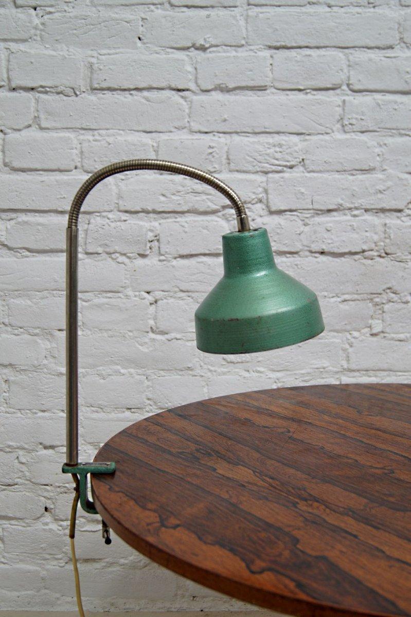 Lampe de bureau industrielle de m tal mot 1960s en vente sur pamono - Lampe bureau industrielle ...