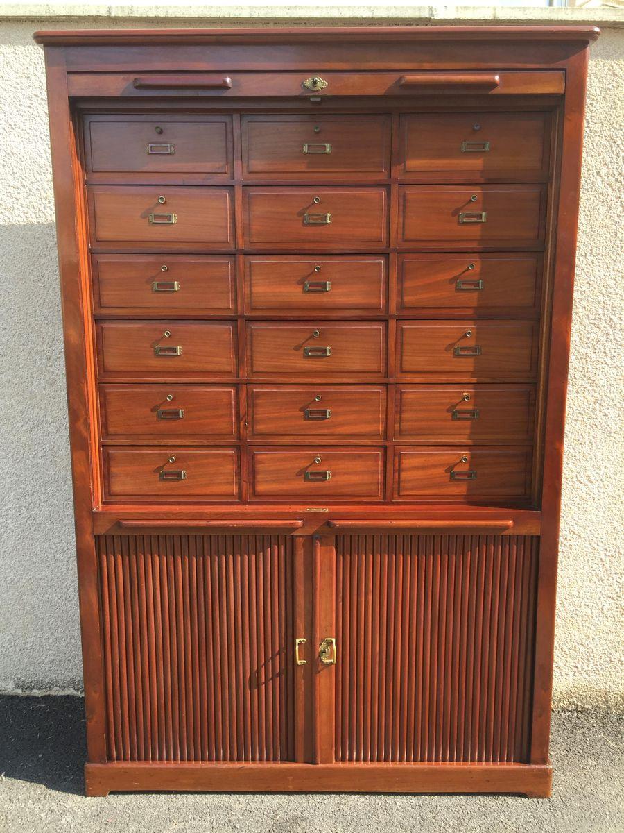 19th Century Tambour Cabinet
