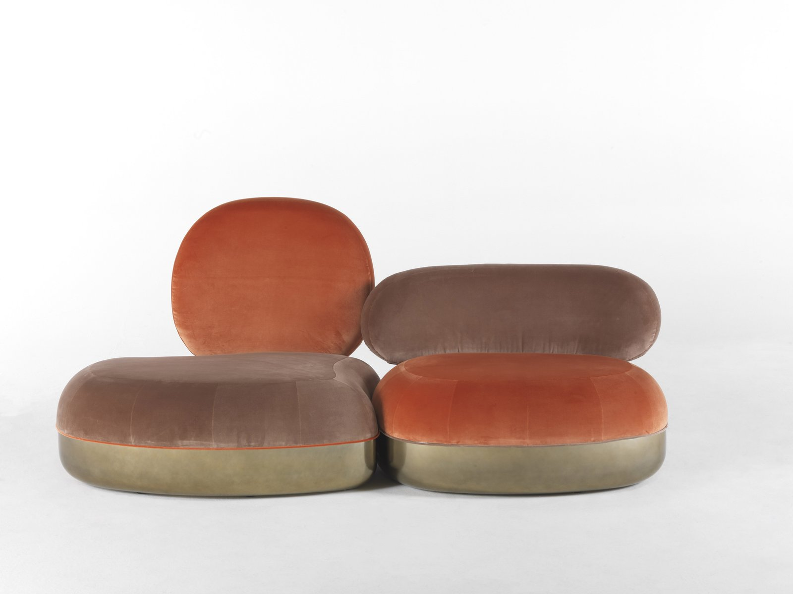 belmer 2 sitzer sofa von matteo cibic f r jcp bei pamono. Black Bedroom Furniture Sets. Home Design Ideas