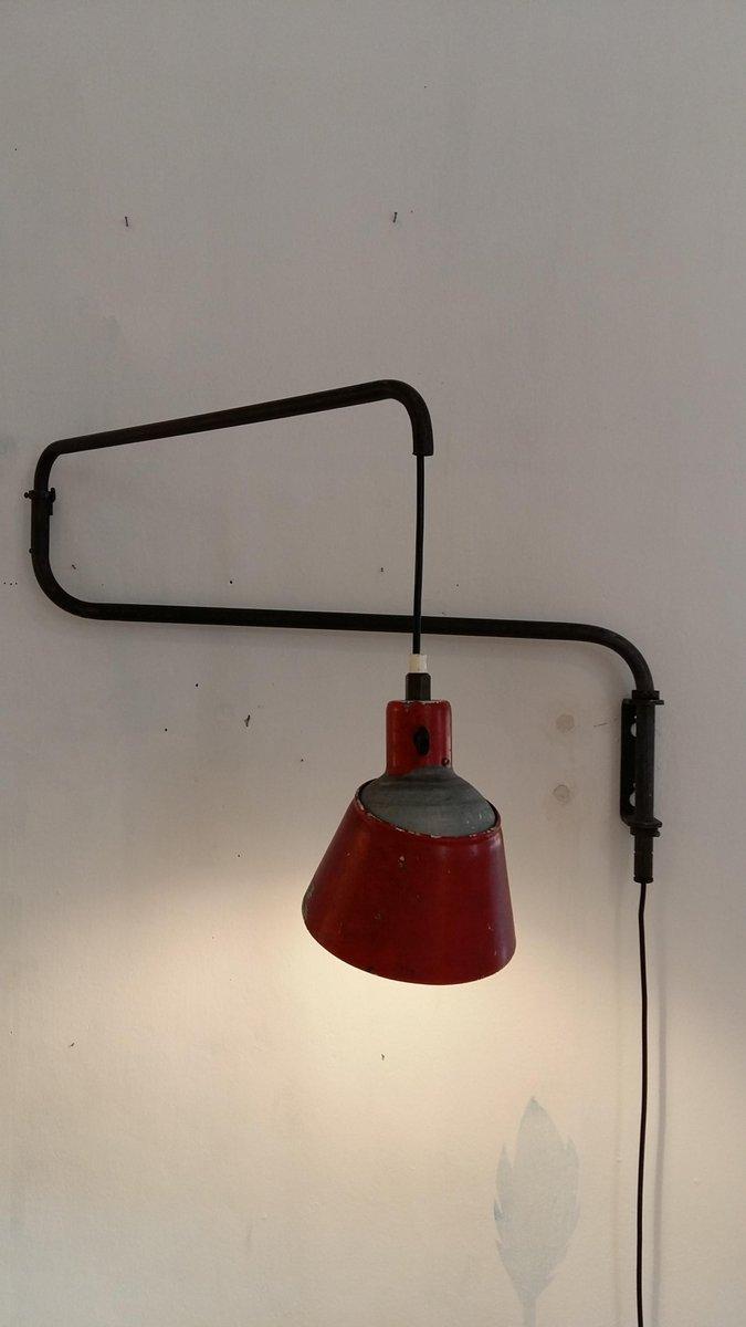 Bauhaus Wandlampe von Heinrich Bormann, 1930er