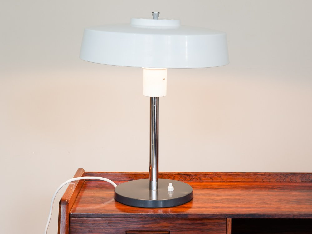 Lampe de bureau vintage en m tal allemagne en vente sur - Lampe de bureau style anglais ...