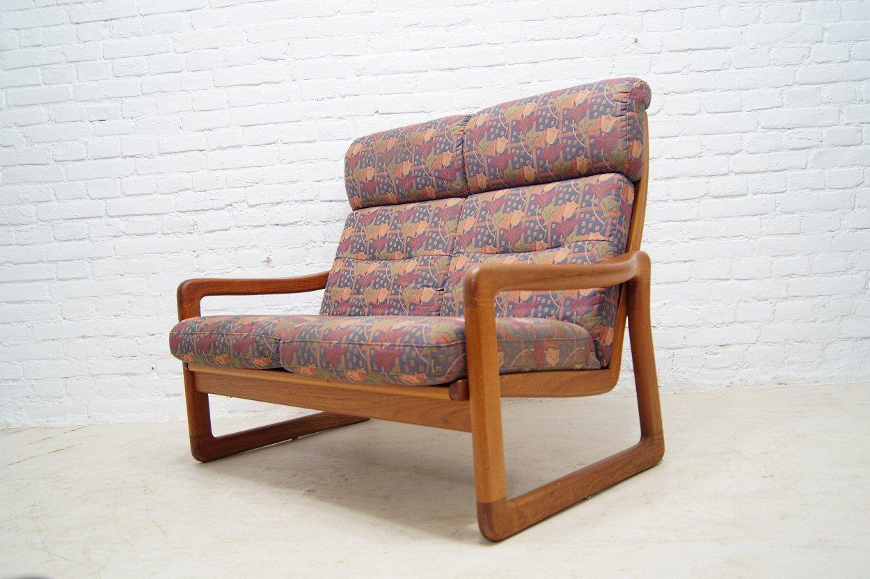 Dänisches Teak 2-Sitzer Sofa von Holstebro, 1970er