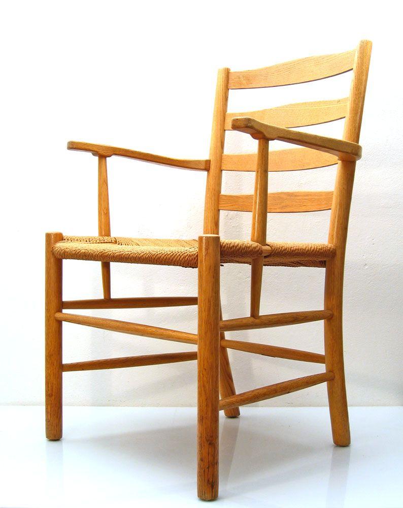 d nischer mid century stuhl von kaare klint f r fritz. Black Bedroom Furniture Sets. Home Design Ideas