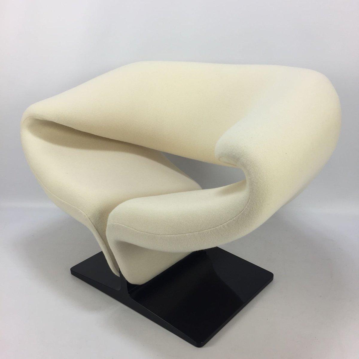 chaise ruban par pierre paulin pour artifort 1980s en vente sur pamono. Black Bedroom Furniture Sets. Home Design Ideas