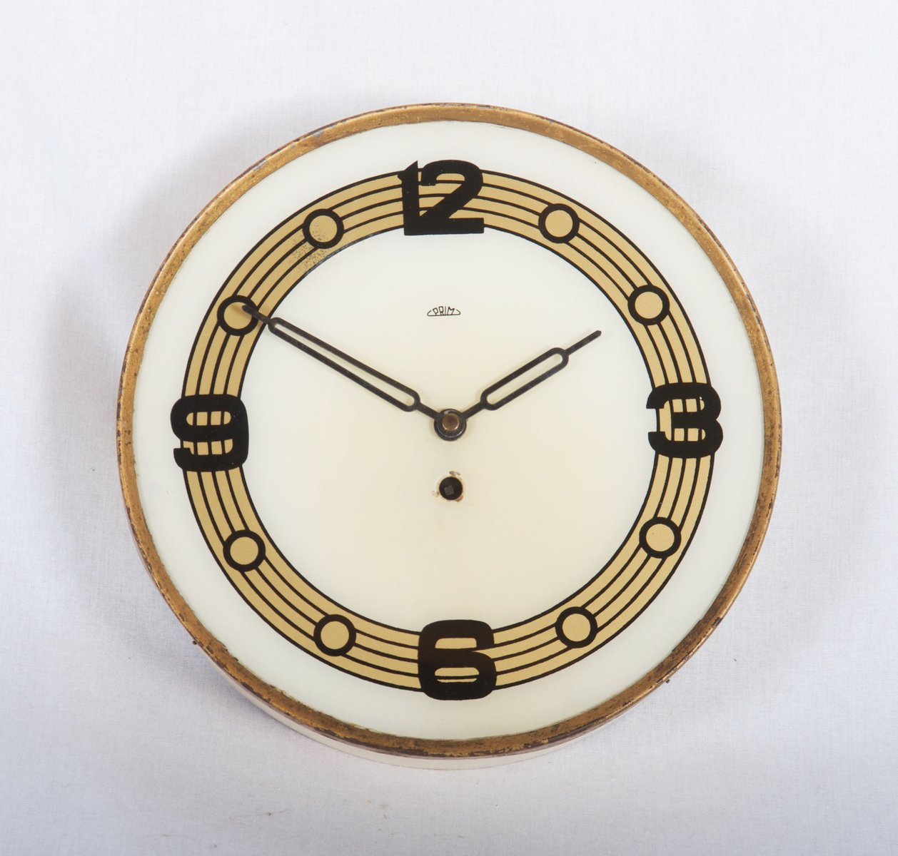 Mid century wall clock from prim 1950s