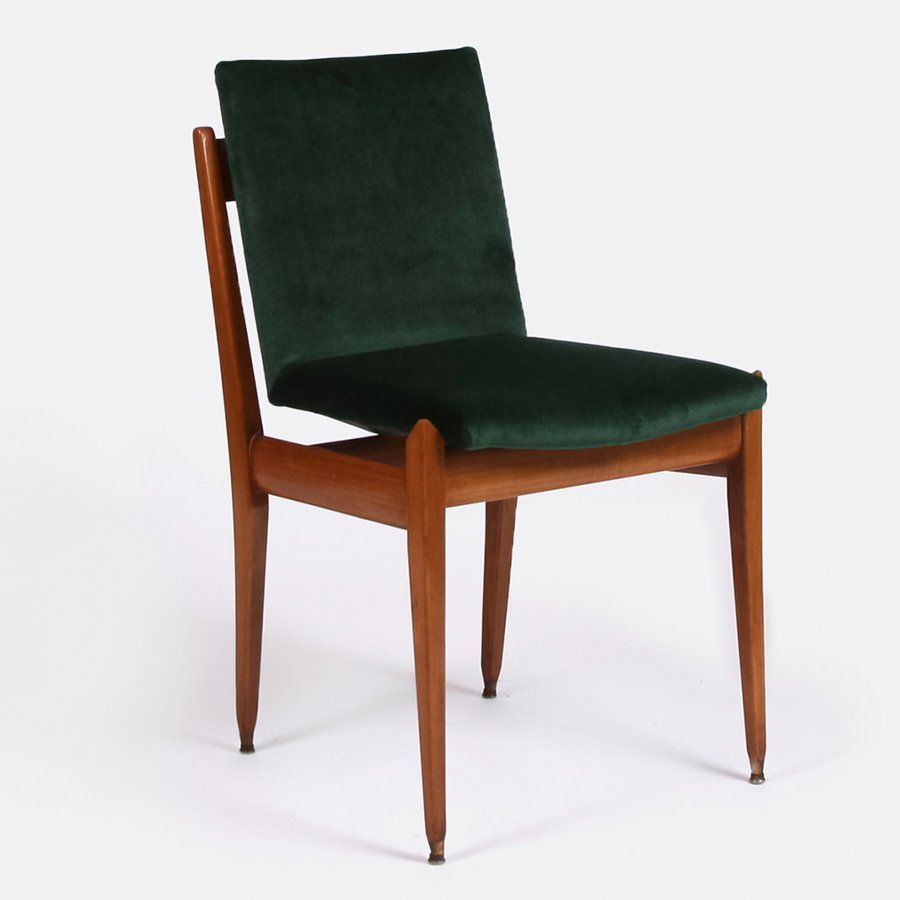 Mid Century Chairs For Sale: Mid-Century Italian Dining Chairs, Set Of 4 For Sale At Pamono
