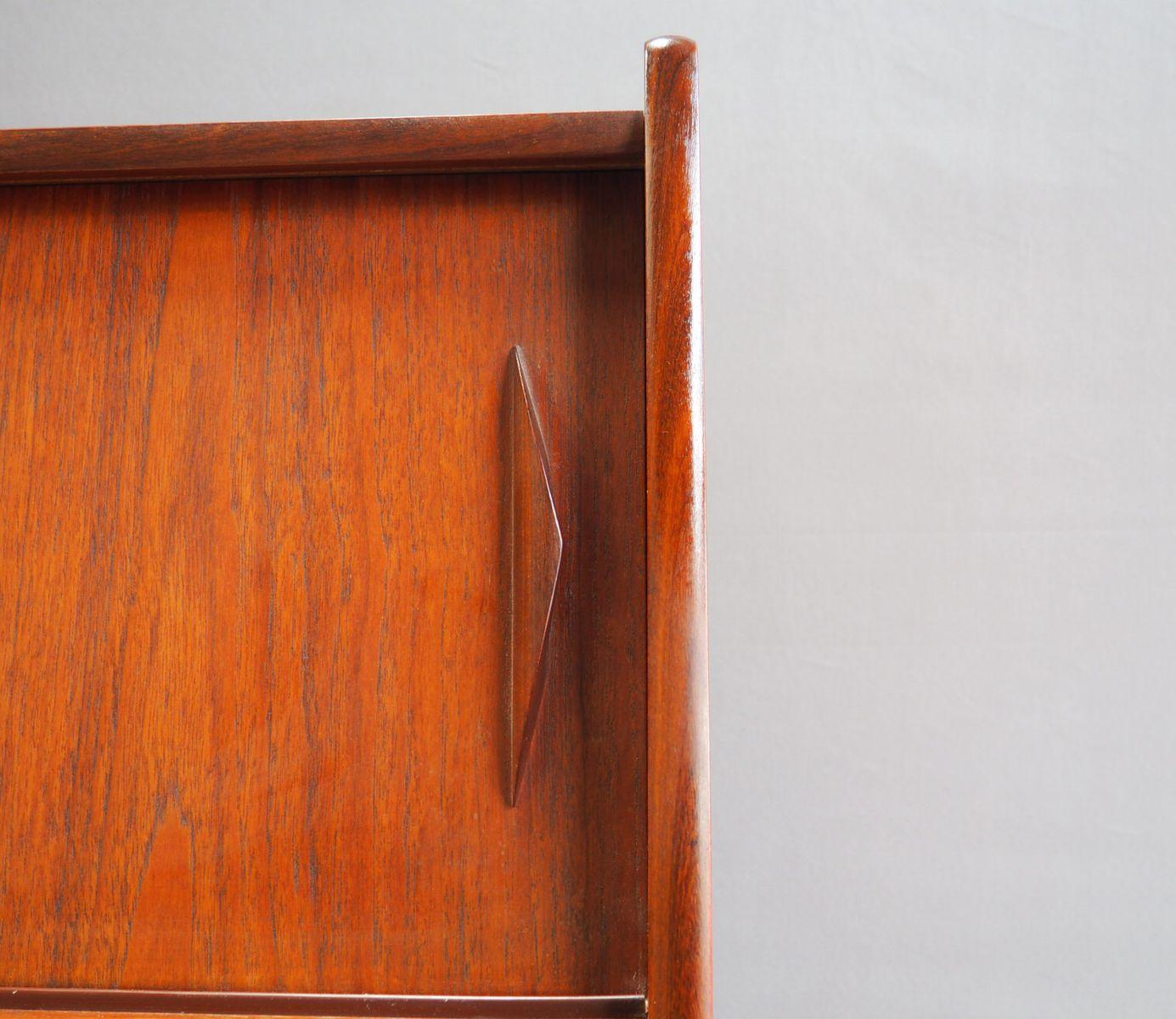 mid century teak sekret r bei pamono kaufen. Black Bedroom Furniture Sets. Home Design Ideas