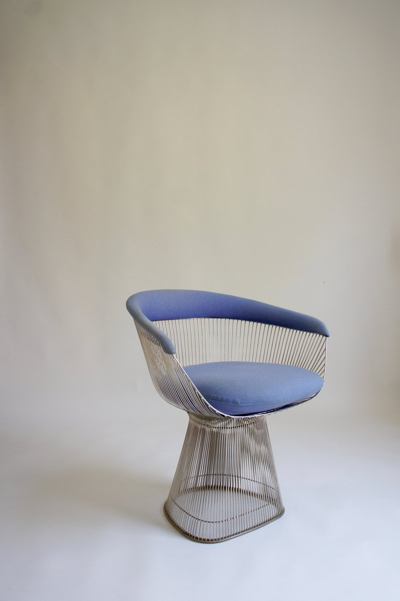 Elegant Vintage Stuhl Von Warren Platner Für Knoll, 1960er