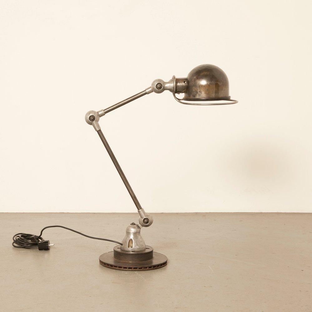 Französische Schreibtischlampe von Jean-Louis Domecq für Jieldé, 1950e...