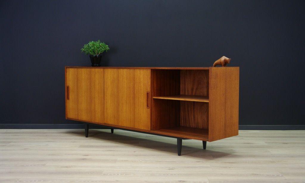 gro es d nische vintage sideboard von vemb m belfabrik bei pamono kaufen. Black Bedroom Furniture Sets. Home Design Ideas