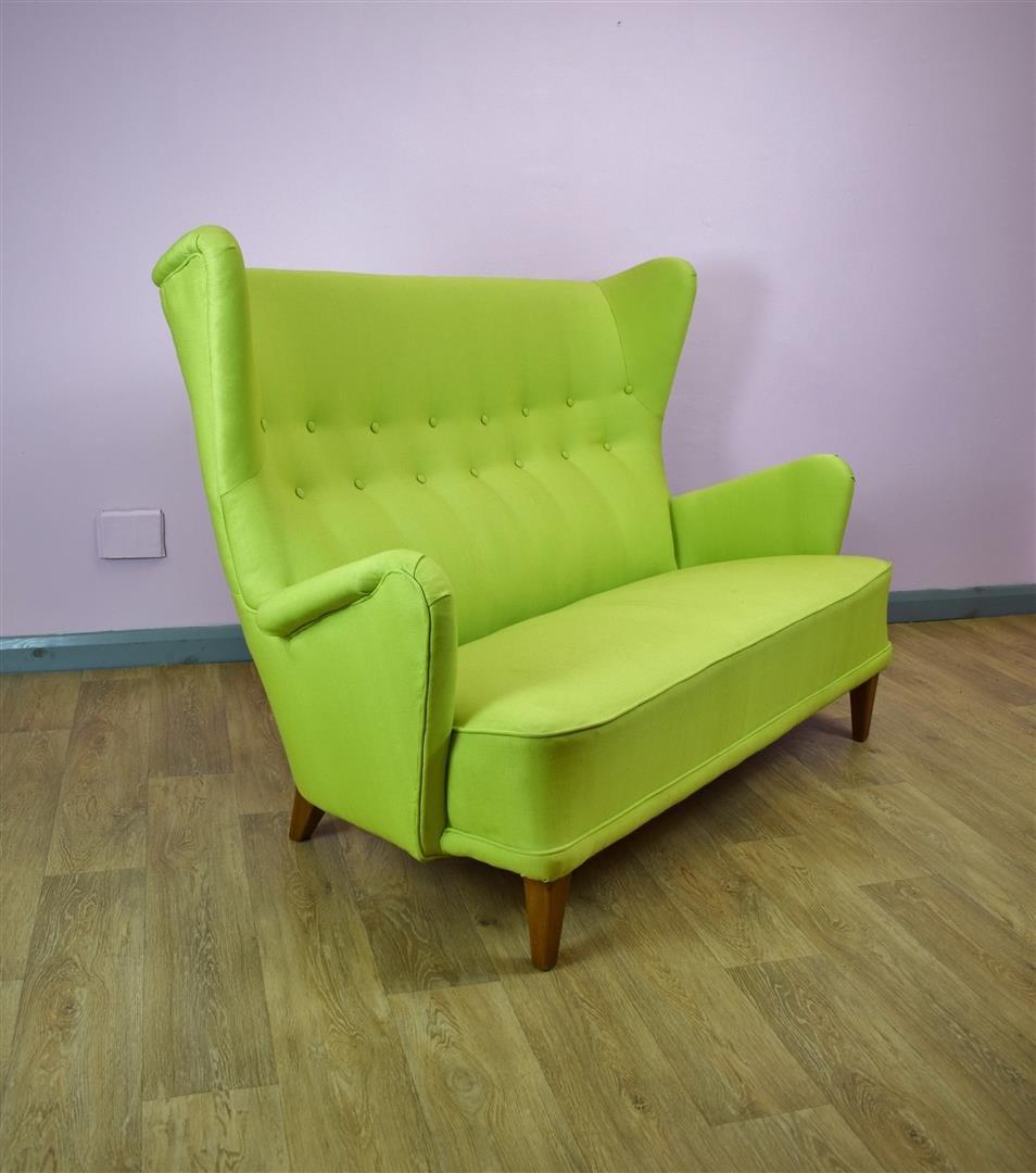 d nisches 2 sitzer sofa 1950er bei pamono kaufen. Black Bedroom Furniture Sets. Home Design Ideas