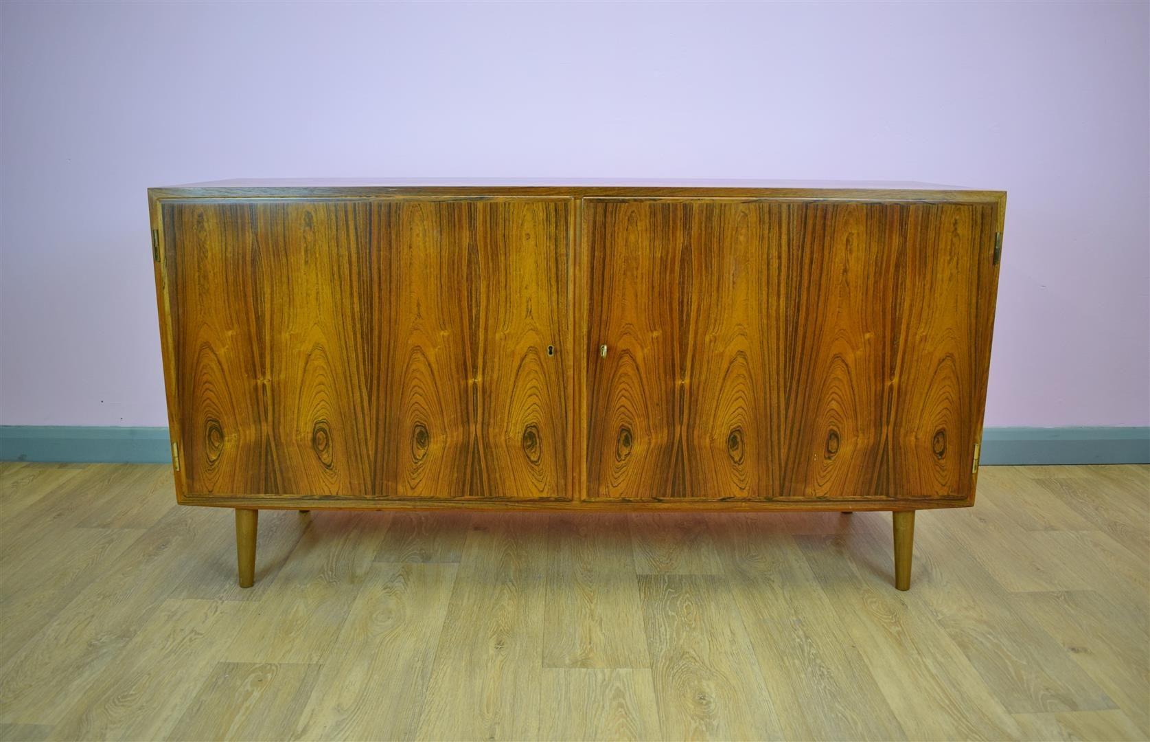 Palisander Sideboard von Carlo Jensen für Hundevad & Co, 1970er