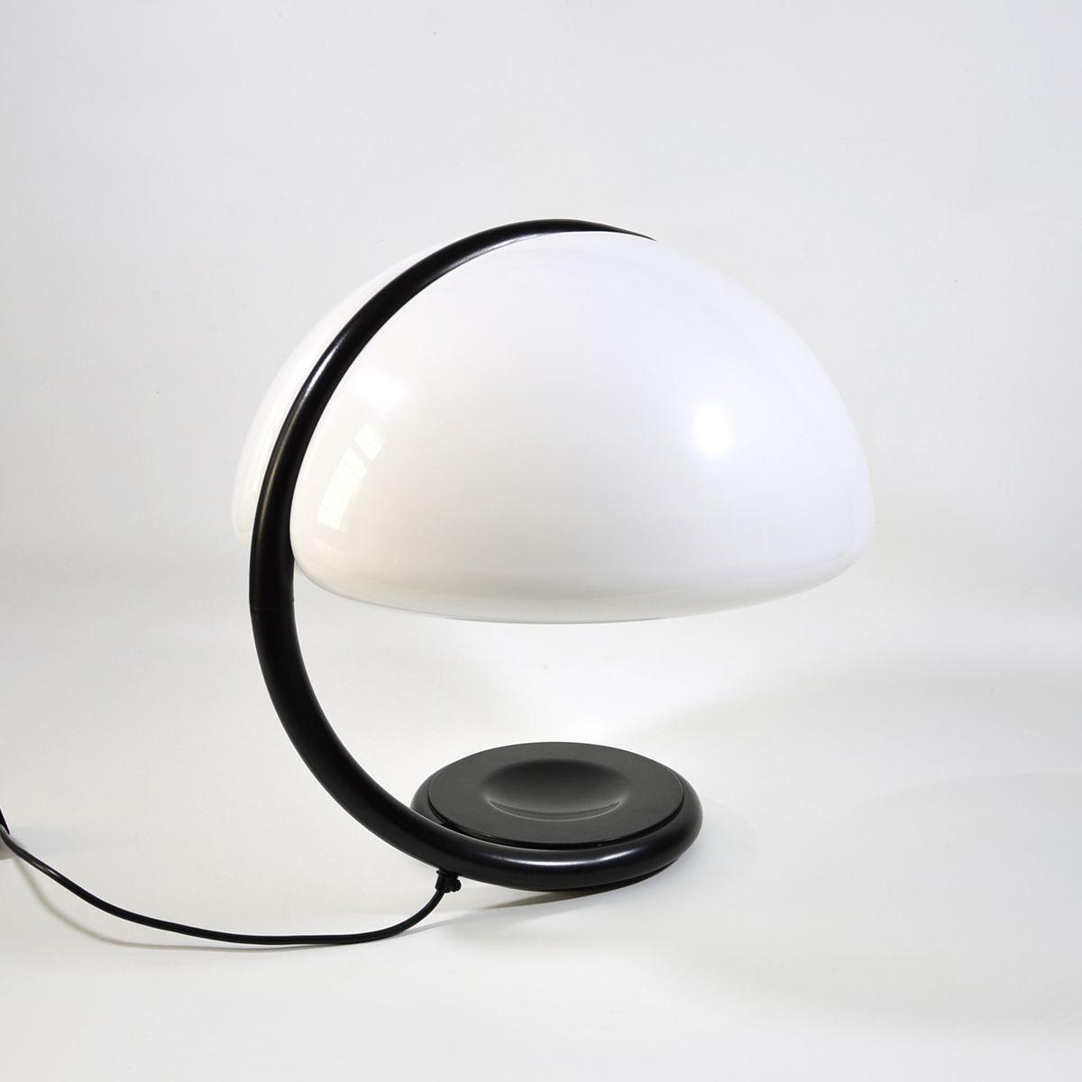 Snake Lampe von Elio Martinelli für Martinelli Luce, 1965
