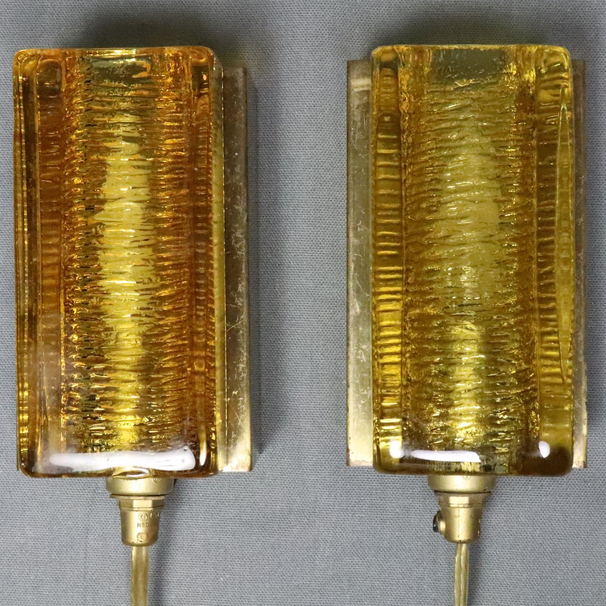 Atlactic Modell 16004 Wandlampen von Vitrika, 1960er, 2er Set
