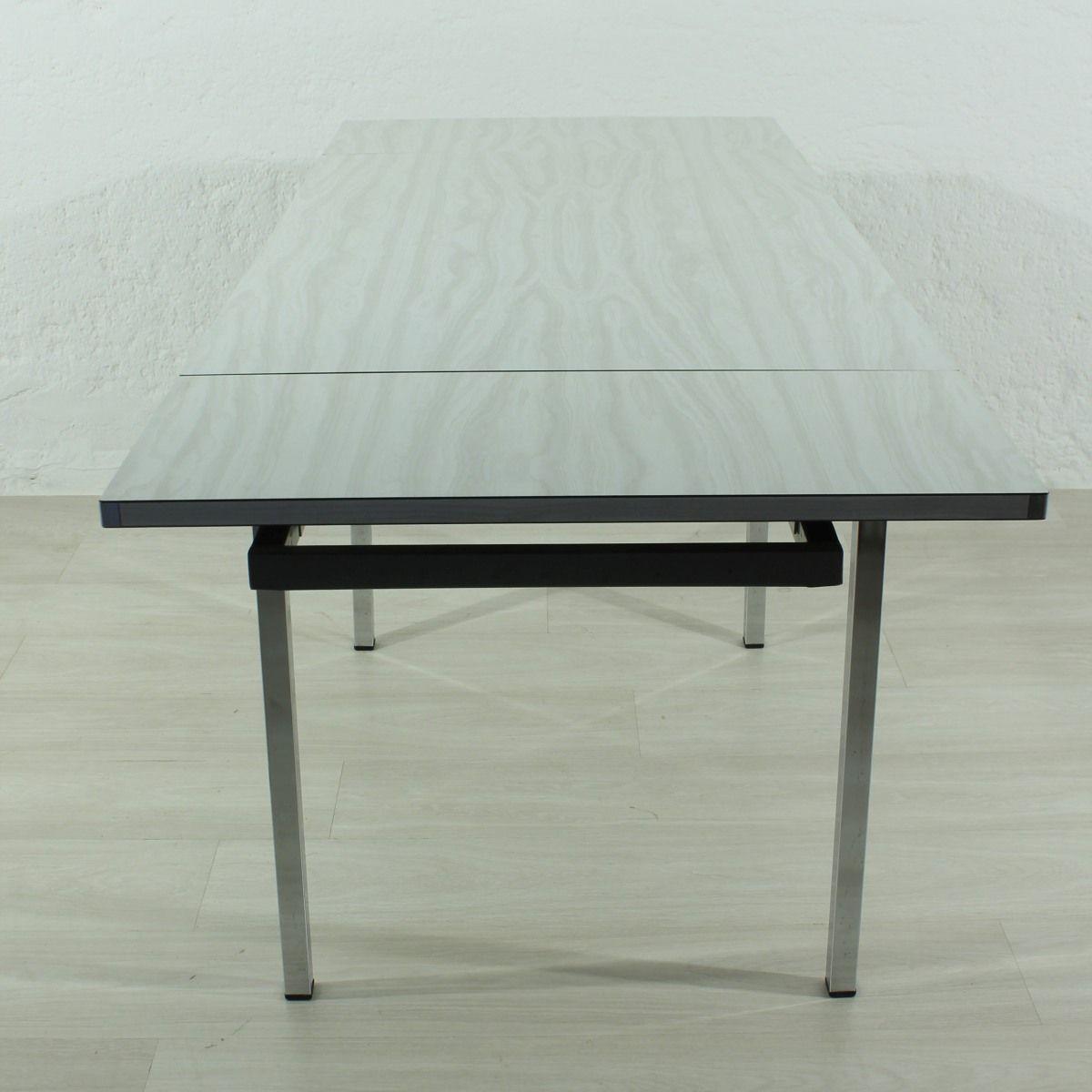 table de salle manger extensible 1970s en vente sur pamono. Black Bedroom Furniture Sets. Home Design Ideas