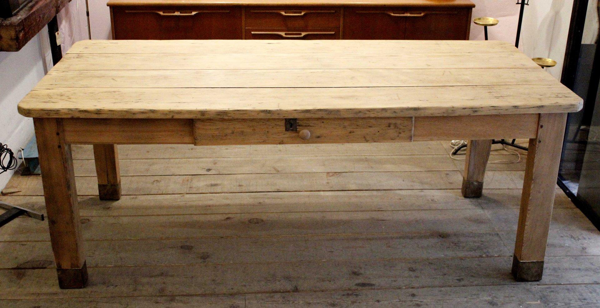 rustikaler esstisch, 1920er bei pamono kaufen