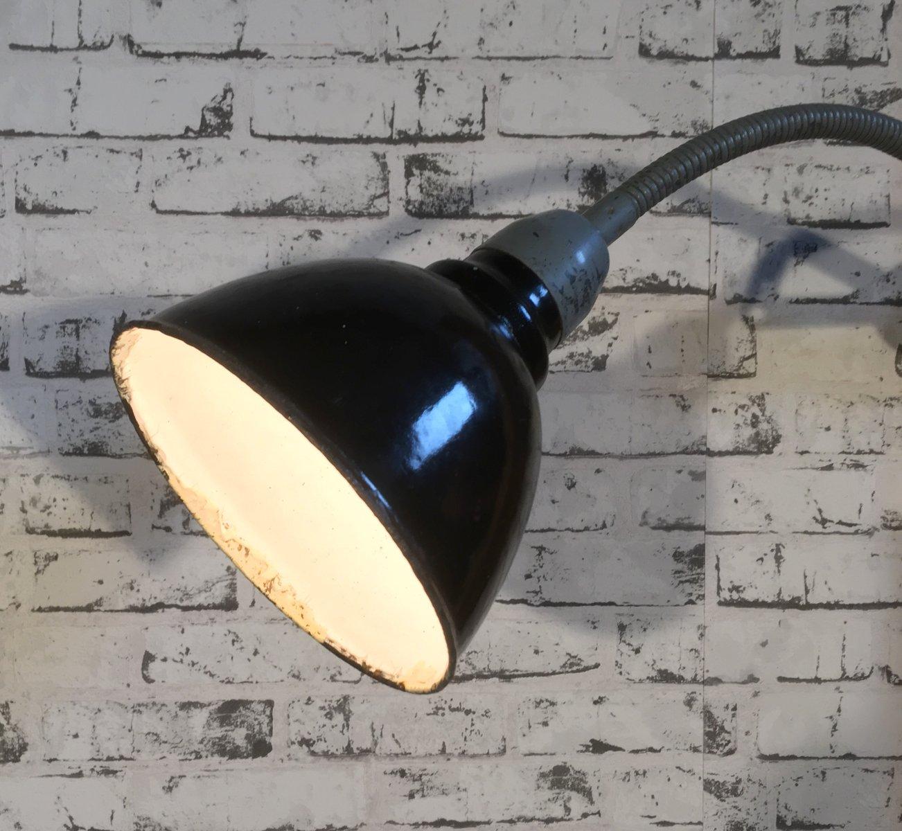 applique murale industrielle col de cygne 1960s en vente sur pamono. Black Bedroom Furniture Sets. Home Design Ideas