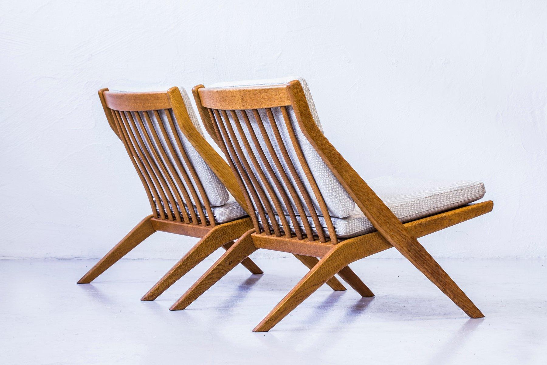 Chaise longue ciseaux mid century par folke ohlsson pour bodafors set de 2 en vente sur pamono - Chaise longue en anglais ...