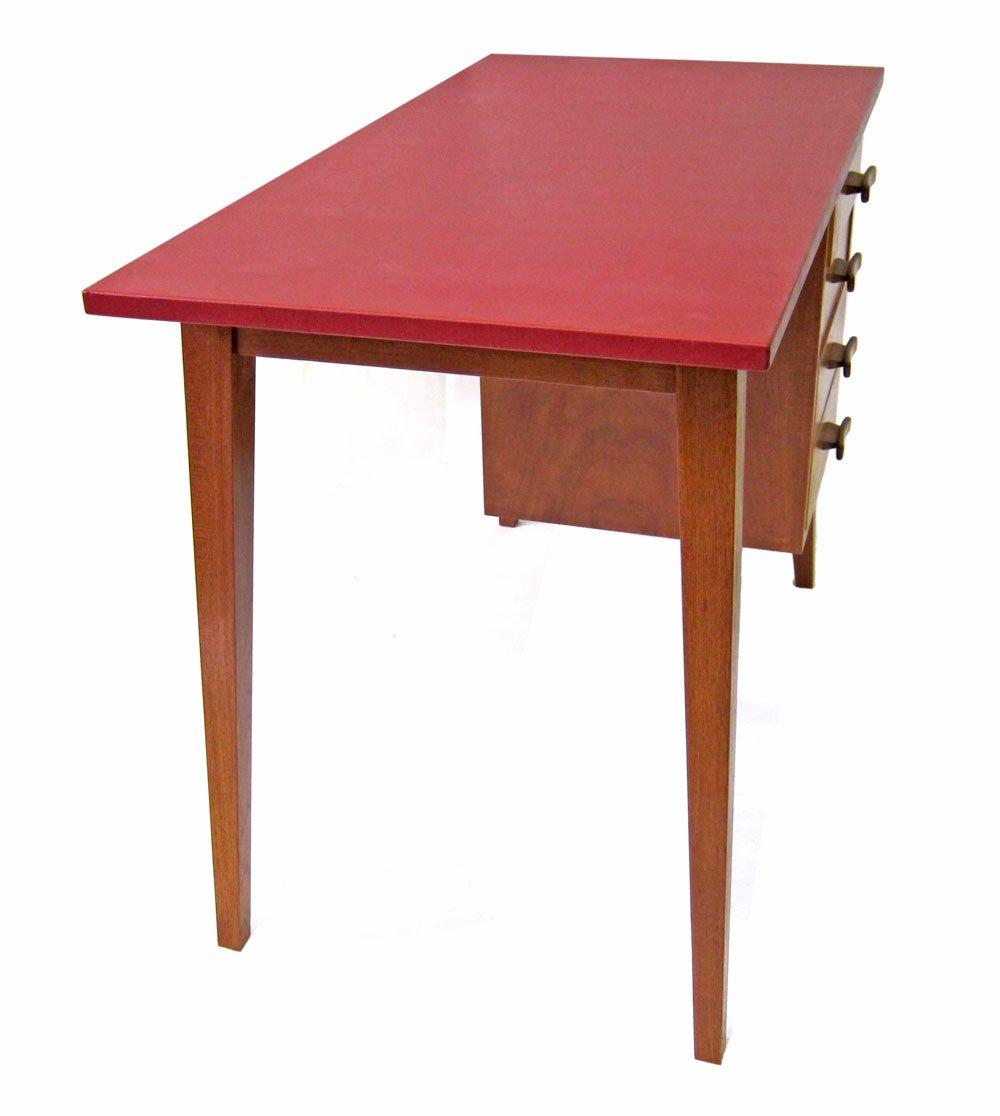 kleine d nische holzbank 1950er bei pamono kaufen. Black Bedroom Furniture Sets. Home Design Ideas