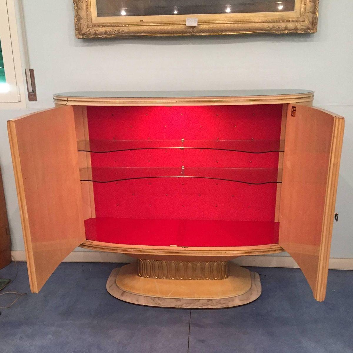 Mobile bar art d co di galleria mobili d 39 arte cant italia anni 39 40 in vendita su pamono - Art deco mobili ...