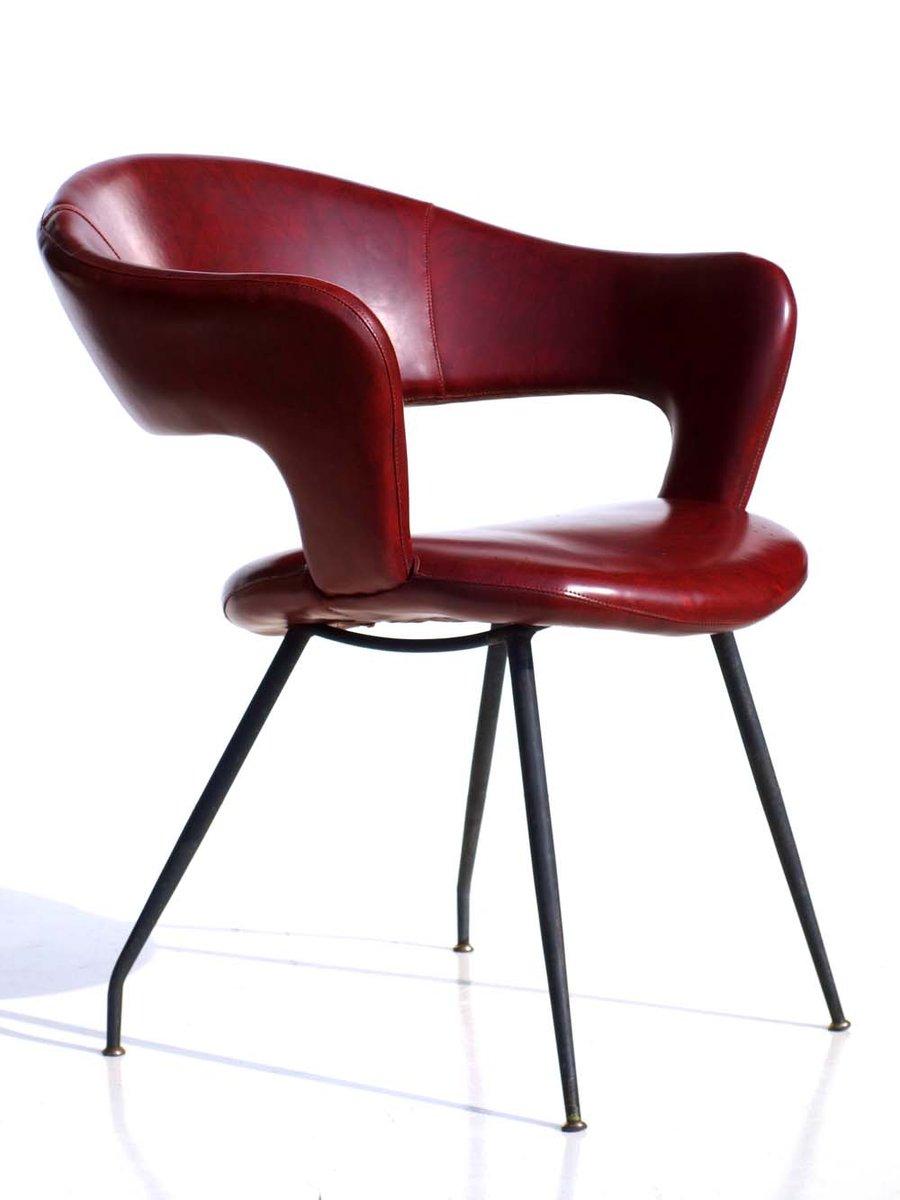 chaise d 39 appoint par gastone rinaldi par rima italie 1950s en vente sur pamono. Black Bedroom Furniture Sets. Home Design Ideas