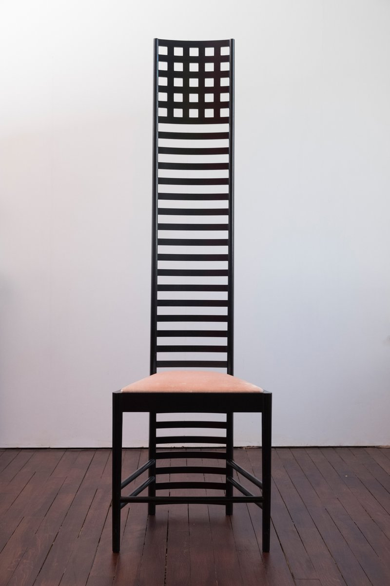 Vintage Hill House 1 Chair By Charles Rennie Mackintosh For Cassina For Sale At Pamono