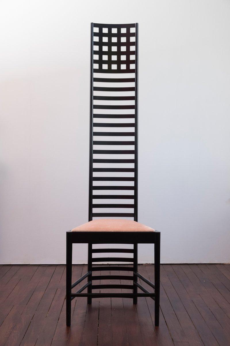 Vintage Hill House 1 Chair By Charles Rennie Mackintosh