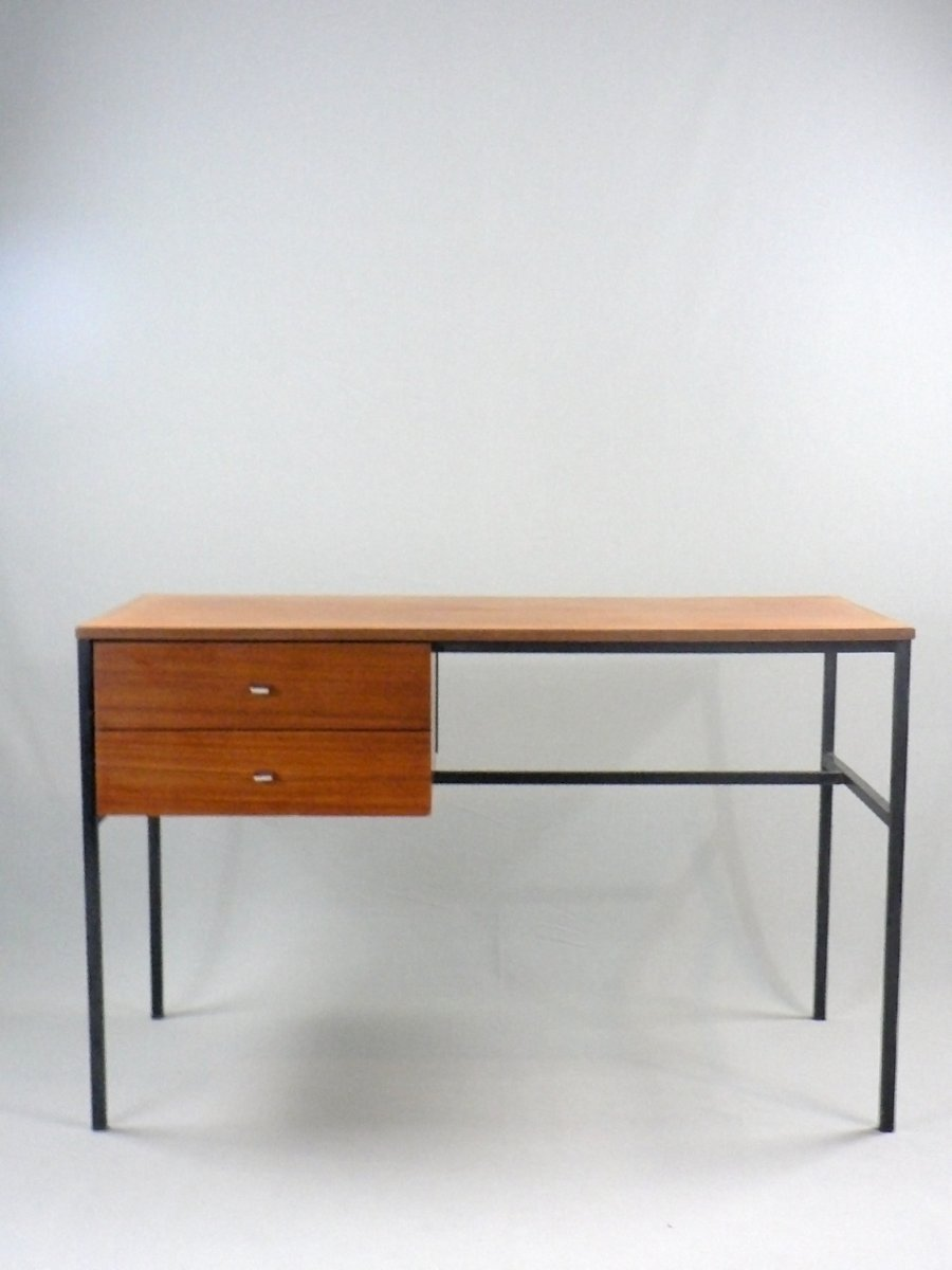 student desk by pierre guariche for meurop 1950s