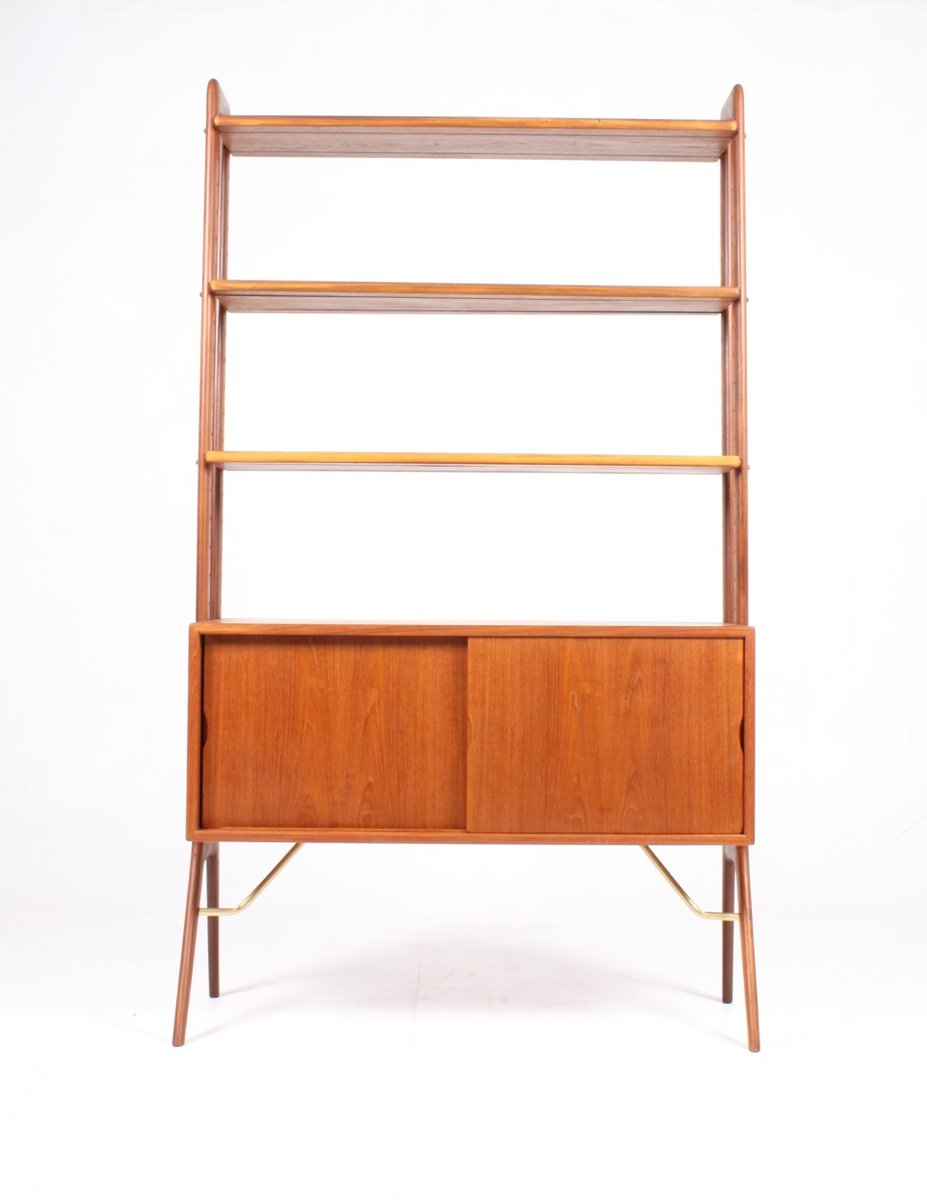 Danish Bookshelf In Teak By Kurt Sterivig For KP Mbler 1960s